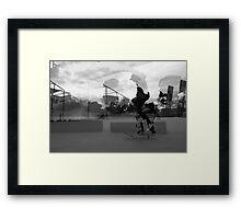 Melbourne, Street Photography Framed Print