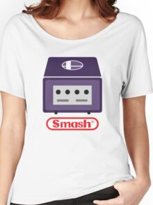 Nintendo Smash Cube Women's Relaxed Fit T-Shirt