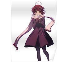Nagisa Winter Coat - Clannad Poster