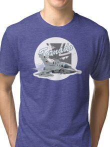 Cartoon Fighter Tri-blend T-Shirt