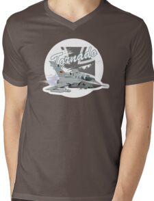 Cartoon Fighter Mens V-Neck T-Shirt