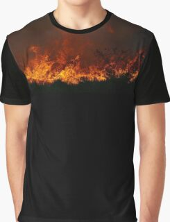 Fire in the dunes Graphic T-Shirt