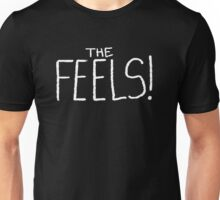 The Feels White Unisex T-Shirt