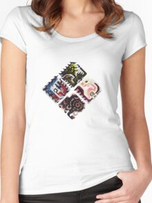 Monster Hunter X - Flagship Women's Fitted Scoop T-Shirt