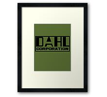 DAHL Corporation Framed Print