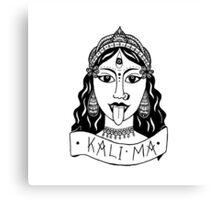KALI MA Canvas Print