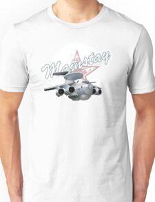 Cartoon AWACS Plane Unisex T-Shirt