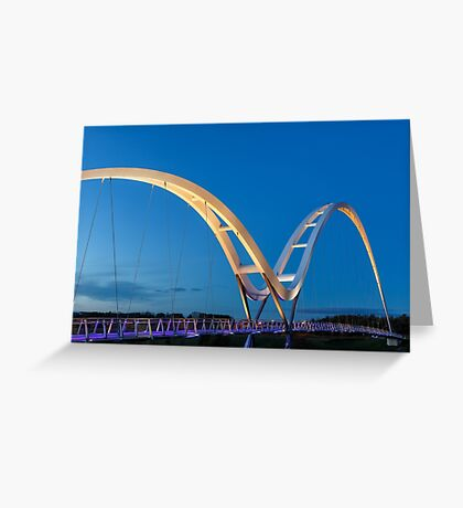 Infinity Bridge Greeting Card