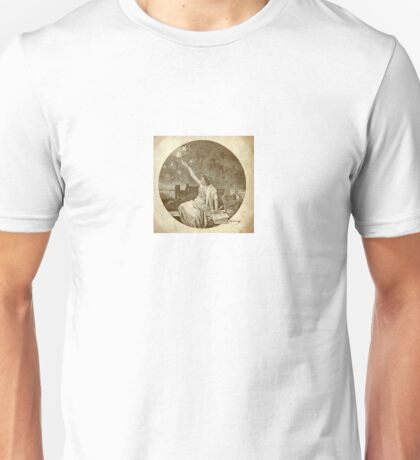Lady liberty stars torch vintage Unisex T-Shirt