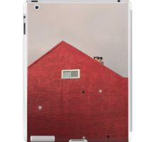 Red Building iPad Case/Skin