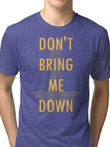ELO - Don't Bring Me Down Tri-blend T-Shirt