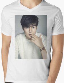 Lee Min Ho 3 Mens V-Neck T-Shirt