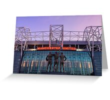 Manchester United Football Club Greeting Card