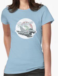 Cartoon Fighter Womens Fitted T-Shirt