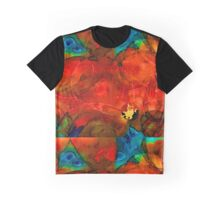 Garden Spirits - Vibrant Red Flowers By Sharon Cummings Graphic T-Shirt