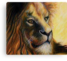 King  Canvas Print