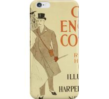Artist Posters Our English cousins by Richard Harding Davis illustrated EP 0302 iPhone Case/Skin