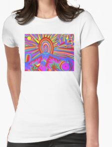 illumination Metamorphosis  Womens Fitted T-Shirt