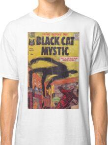 Black cat mystic Classic T-Shirt