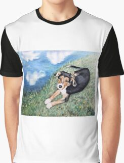 Puppy Max Graphic T-Shirt