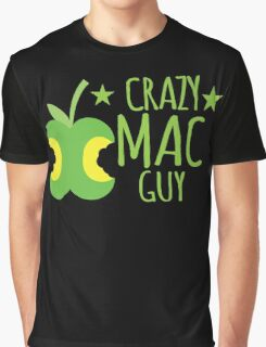 Crazy Mac guy Graphic T-Shirt