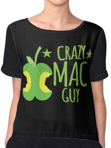 Crazy Mac guy Chiffon Top