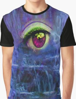 Waterfall Tears Graphic T-Shirt