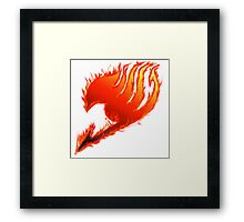 Fairy tail symbol Framed Print