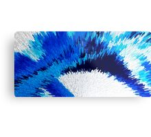 Color Shock 2 - Vibrant Digital Painting Art Metal Print
