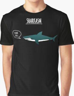 Sharkasm Graphic T-Shirt