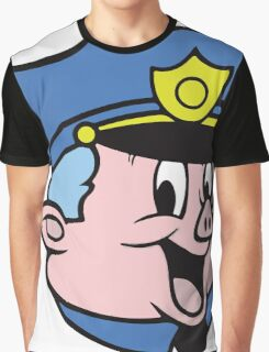 Chief Piggum Graphic T-Shirt