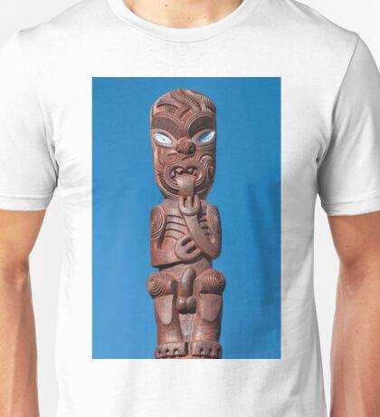 Maori Statue Unisex T-Shirt