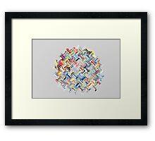 Transfigured globe Framed Print