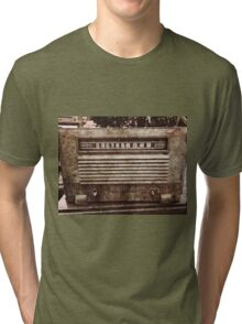 Old Vintage Radio Tri-blend T-Shirt