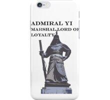 admiral yi sun-sin iPhone Case/Skin
