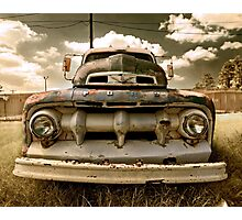 Abandoned 1951 Ford F-100 Photographic Print
