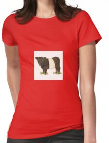 Galloway Belted Cow Womens Fitted T-Shirt