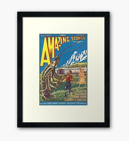 Amazing stories 2 Framed Print