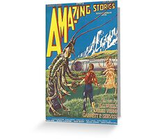 Amazing stories 2 Greeting Card