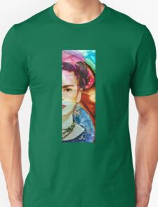 Frida Kahlo Art - Seeing Color by Sharon Cummings Unisex T-Shirt