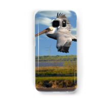 Pelican with Wind Turbines Samsung Galaxy Case/Skin