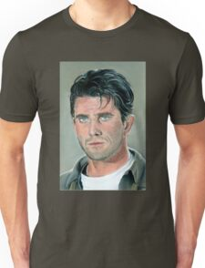 "hand drawing with pastels ""Mel Gibson"" Unisex T-Shirt"