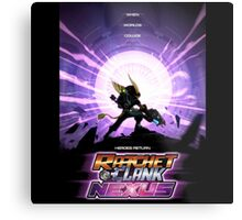 Ratchet And Clank Nexus Metal Print