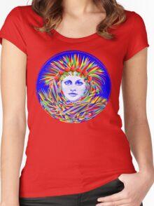 Mushroom Dream Women's Fitted Scoop T-Shirt