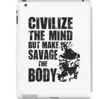 Make Savage The Body (Saiyan Ripped Back) iPad Case/Skin