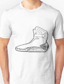 Back to the future shoe Unisex T-Shirt