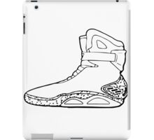 Back to the future shoe iPad Case/Skin