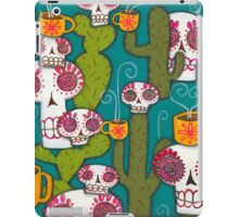 Skulls, Cacti and Atomic Coffee iPad Case/Skin