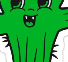 flowerpot sweet cute little cactus face comic cartoon baby child Sticker