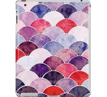 Purple Fish Scale Pattern iPad Case/Skin
